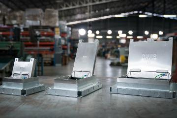 Heavy Duty Underfloor Trunking System