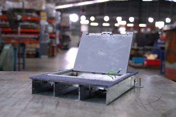 Modular Flushfloor Trunking System