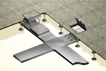 Raised Floor Trunking System